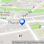 Map Eyes on Church Toronto, Canada