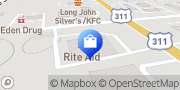 Map Walgreens Eden, United States