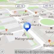Map Farmacia Rotonda A Coruña, Spain