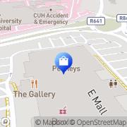 Map Penneys Bishopstown, Ireland