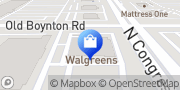 Map Walgreens Boynton Beach, United States