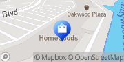 Map HomeGoods Hollywood, United States