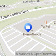 Map HomeGoods Pittsburgh, United States