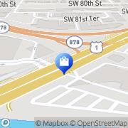 Map Target Miami, United States