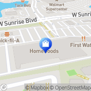 Map HomeGoods Sunrise, United States