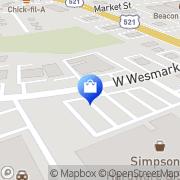 Map Alltel Sumter, United States