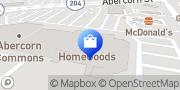 Map HomeGoods Savannah, United States