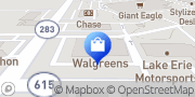 Map Walgreens Mentor-on-the-Lake, United States