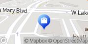Map Walgreens Lake Mary, United States