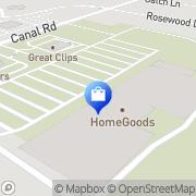 Map HomeGoods Brunswick, United States