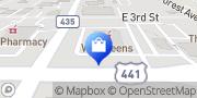Map Walgreens Apopka, United States