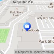 Map HomeGoods Naples, United States