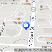 Map Target Medina, United States