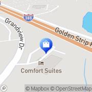 Map Alltel Simpsonville, United States