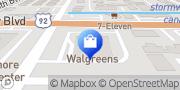 Map Walgreens Tampa, United States