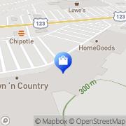 Map Hobby Lobby Easley, United States
