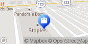 Map Staples Easley, United States