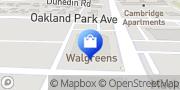 Map Walgreens Columbus, United States