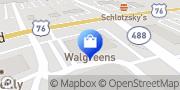 Map Walgreens Seneca, United States