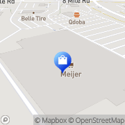 Map Meijer Pharmacy Northville, United States