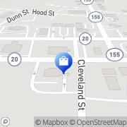 Map Ward Drug McDonough, United States
