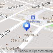 Map Balboa Menswear Atlanta, United States