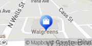 Map Walgreens Fort Wayne, United States
