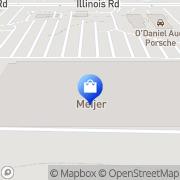 Map Meijer Pharmacy Fort Wayne, United States