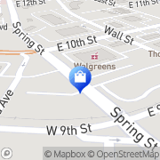 Map Walgreens Jeffersonville, United States