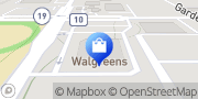 Map Walgreens Elkhart, United States