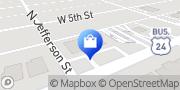 Map AT&T Store Peru, United States