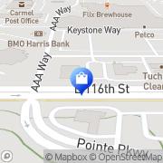 Map Arhaus Furniture Carmel, United States