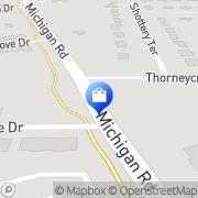 Map Walgreens Indianapolis, United States
