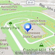 Map Moore & Smith Tree Service Nashville, United States