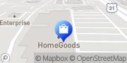 Map HomeGoods Hoover, United States