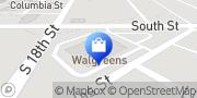 Map Walgreens Lafayette, United States