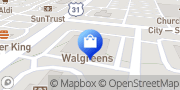 Map Walgreens Spring Hill, United States