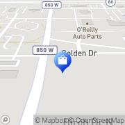 Map Velba Cell Wireless Comms Newburgh, United States