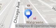 Map Walgreens Evanston, United States