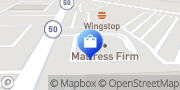 Map Mattress Firm Crestwood IL Crestwood, United States