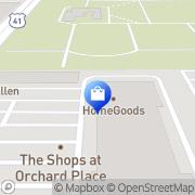 Map HomeGoods Skokie, United States
