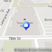 Map HomeGoods Burbank, United States