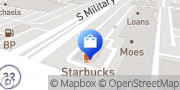 Map AT&T Store Green Bay, United States