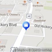 Map ClearTalk Wireless Phone & Internet Jackson, United States