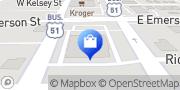 Map Walgreens Bloomington, United States