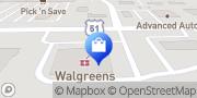 Map Walgreens Stoughton, United States