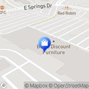 Map OfficeMax - CLOSED Madison, United States