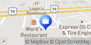 Map T-Mobile Hattiesburg, United States