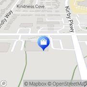 Map Walgreens Memphis, United States