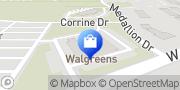 Map Walgreens Greenwood, United States